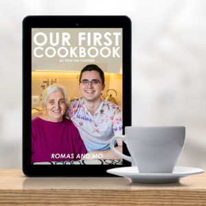 ENGLISH Our First Cookbook – Romas and MO [first eBook]