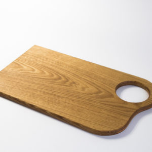 Thin Cutting Board With a Hole