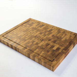 Large End Grain Cutting Board (*with a juice groove)