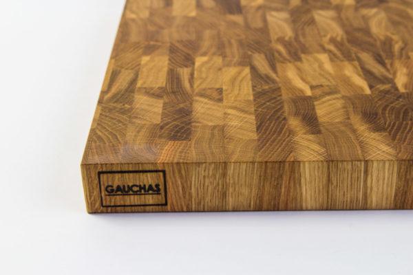 Gauchas Large End Grain Cutting Board close up