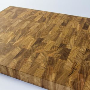 Gauchas Large End Grain Cutting Board side 1