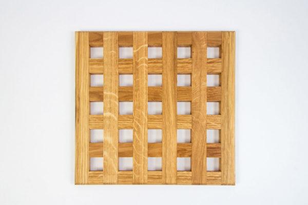 Gauchas Medium Handmade Coaster 6x6 top