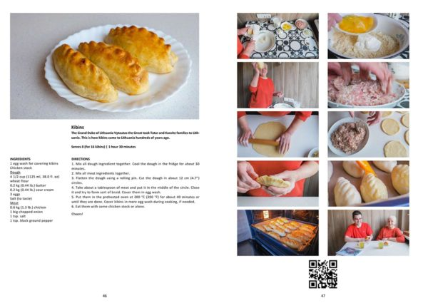 ENGLISH Read, Watch, Make Cookbook – Romas and Mo [second eBook]
