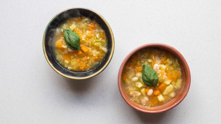Chicken Broth Vegetable Soup