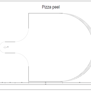 DIGITAL Pizza Peel PDF Plan