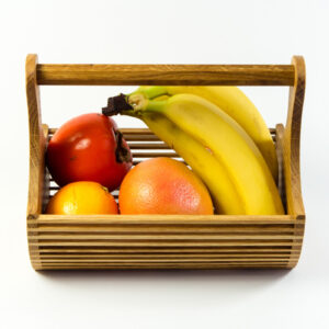Handmade Fruit Tray With a Handle