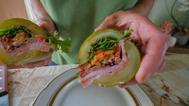 The Sandwich in a Pickle